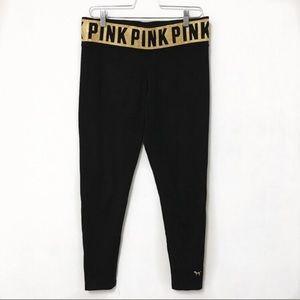 Victoria's Secret PINK Black Leggings